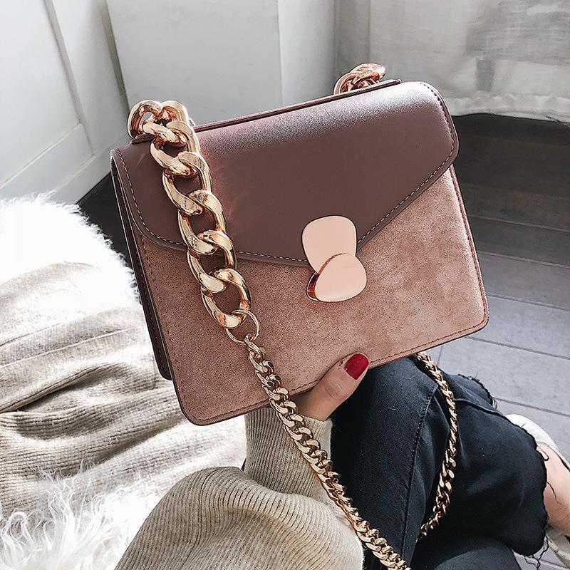 Weibliche feste leder crossbody damen sac frauen handtaschen kette luxus für designer taschen 2020 main eine schulter hand umhängetasche owrui