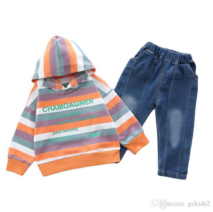 crianças roupas camisa meninos moda t de manga comprida T-shirt dos miúdos roupas meninos tee roupas camisa calças meninos do desenhador varejo