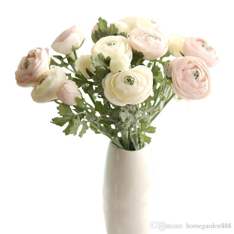 home decoration flower desktop decoration vase flower arrangement Festive Party Supplies Decorative Flowers artificial flower wedding