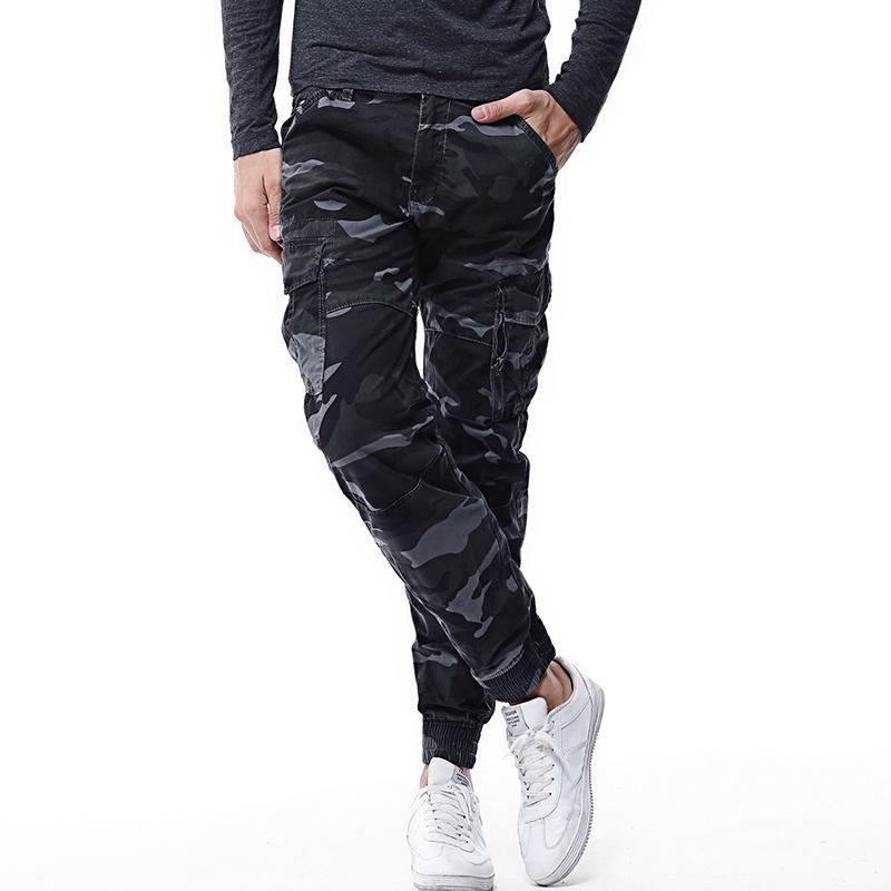 2019 новые тактические брюки Мужские грузов брюки боевой брюки из хлопка Army активная работа хлопок мужской мужские