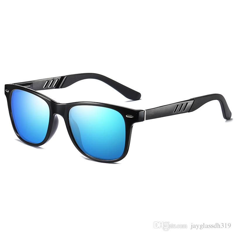 2020 nuovo modo di arrivo occhiali da sole quadrati polarizzato per gli uomini di buona qualità HD Eyewear moda di guida Occhiali da sole rivestimento a specchio Oculos UV400