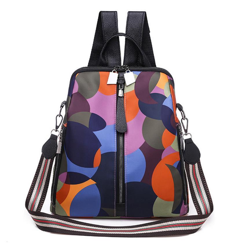 Горячий милый многоцветный многофункциональный элегантный элегантный рюкзак вскользь леди школьная сумка сумка рюкзак пакет туризм мода tkdpm