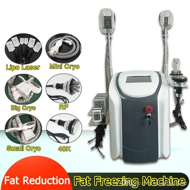 La meilleure vente 3 poignées de Cryo Cryotherapy grande petite mini poignée de Cryo graisse équipement de beauté de congélation Lipo Laser Machine pour Spa Salon utilisation CE