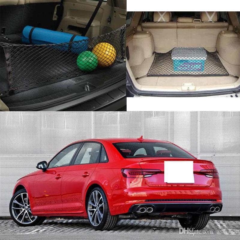 لطراز AUDI S4 السيارات السيارات الخلفية جذع شحن منظم التخزين نايلون عادي عمودي مقعد نت
