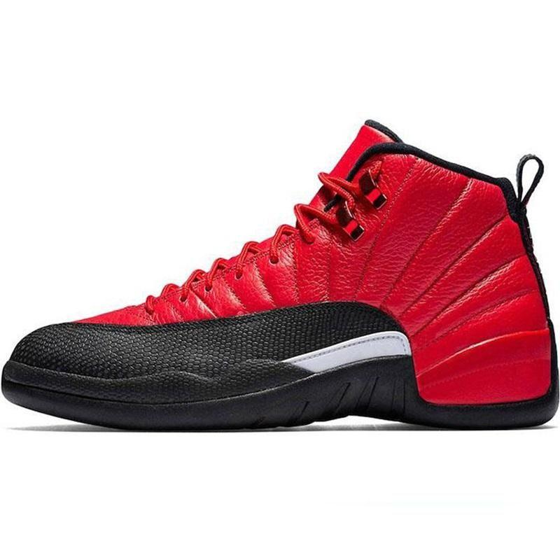 Basketball Hot Chaussures Hommes 12 12s inverse grippe jeu foncé Concord Gris foncé FIBA jeu royal Formateurs Chaussures de sport de sport Runners