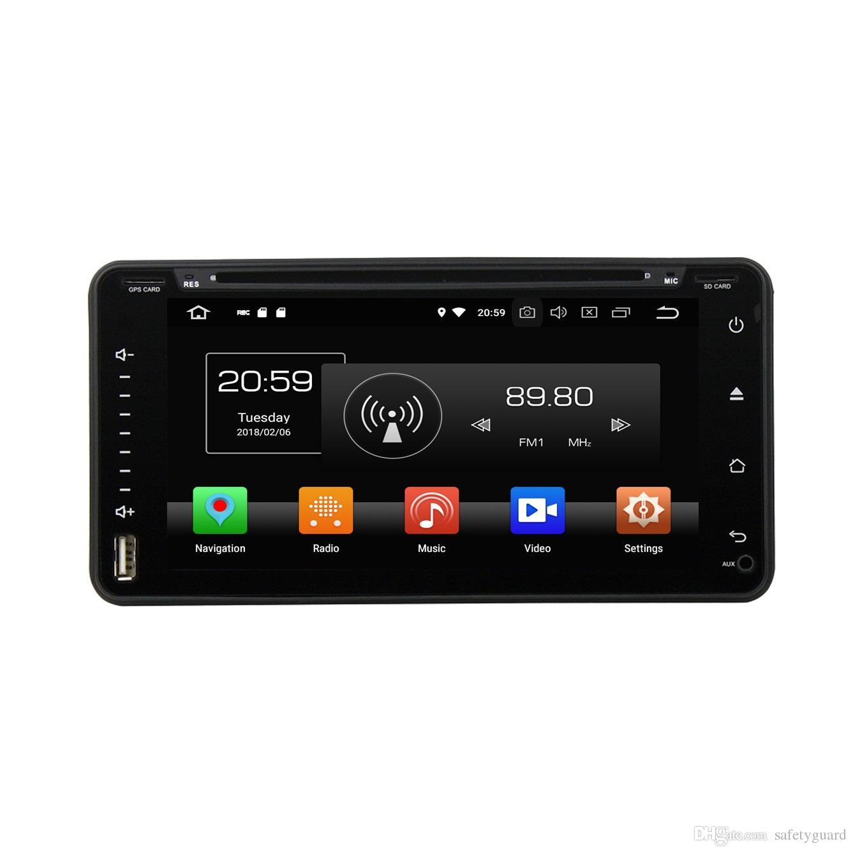 "2 din 6.95"" Android 8.0 Octa Core Universal Car DVD GPS Player for Toyota RAV4 Corolla Vios Hilux Land Cruiser Fortuner Prado Terios"