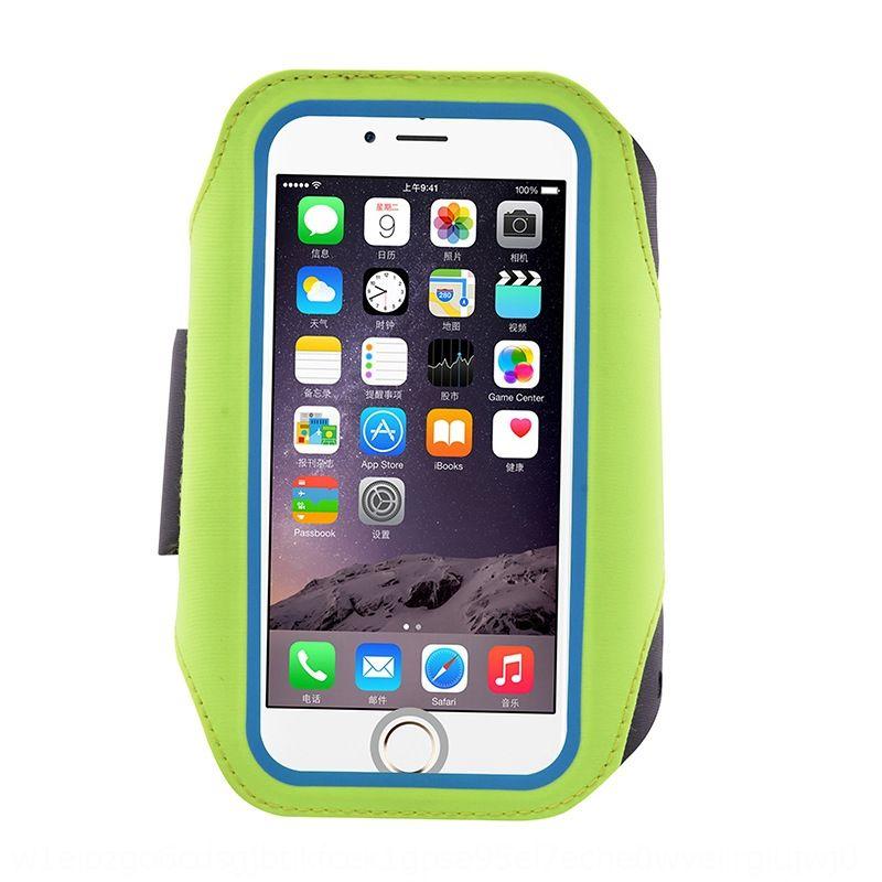 0FXrl Outdoor de Fitness esportes executando tela de cinto de impressões digitais desbloqueio saco braço móvel celular luz tela de desbloqueio do telefone tensão Lycra