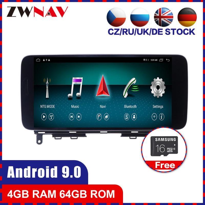 4G + 64G Android 10.0 автомобильный мультимедийный плеер GPS ГЛОНАСС навигация для W204 аудио Радио стерео головной блок WIfi BT GPS автомобильный dvd