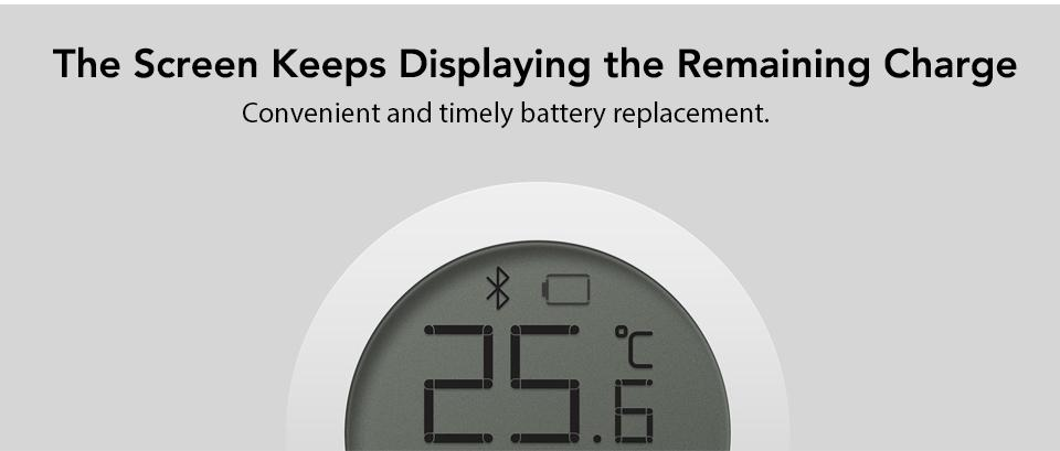 Xiaomi Mijia Bluetooth Temperature Humidity Monitor Sensor APP Control Built-in Sensor LCD Display Magnetic Stick Ultra-LowPower (8)
