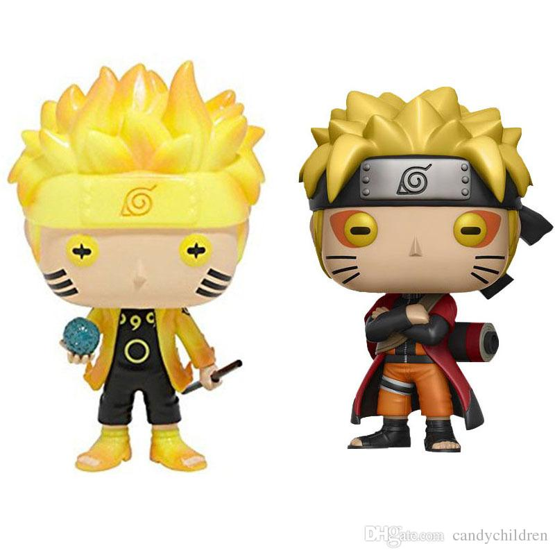 Funko Pop Naruto Eylem oyuncaklar PVC karikatür çocuklara Anime oyuncaklar C378 Şekil