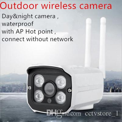 야외 WiFi CCTV 보안 카메라 1080P / 960P / 720P 무선 IP 캠 야외 IP66 홈 감시 모션 센서 비디오 안드로이드 IOS
