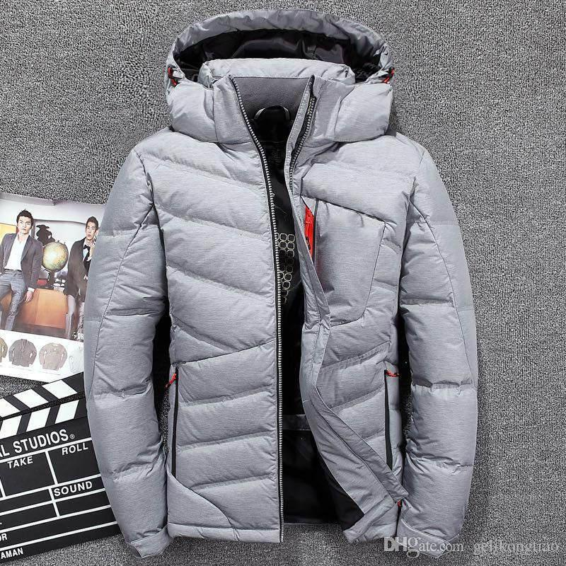 2019 High Quality Men Fashion White Duck Down north Jacket Winter Casual Down Coats Waterproof Windproof jackets face Parkas xf3063