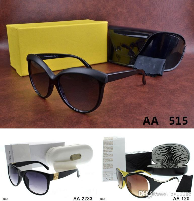 Cool Big size men women Sunglasses with origianal box kaka eyeglasses gold Metal Round classical Vintage jim Glasses for Friends as Gifts