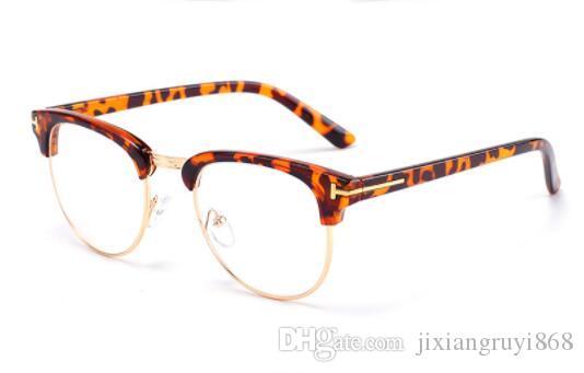 Vintage Ladies lunettes de soleil Cat Eye clair Cadre Luxe Brand Design Lunettes Femmes Lunettes montures de lunettes optiques cadre 3002