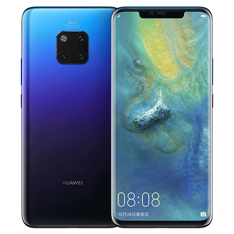 "Original Huawei Mate 20 Pro 4G LTE Cell Phone 6GB RAM 128GB ROM Kirin 980 Octa Core Android 6.39"" OELD Full Screen 40.0MP NFC 4200mAh 3D Face ID Smart Mobile Phone"