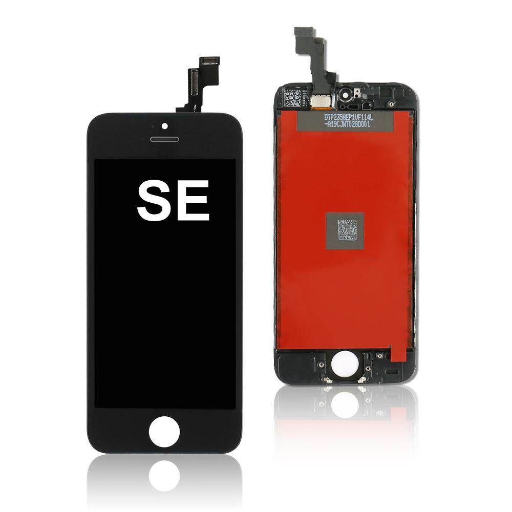 Display LCD di alta qualità per ordine della miscela dello schermo iPhone SE Digitizer fredda Telaio Press sostituzione Assemblea completa Disponibile