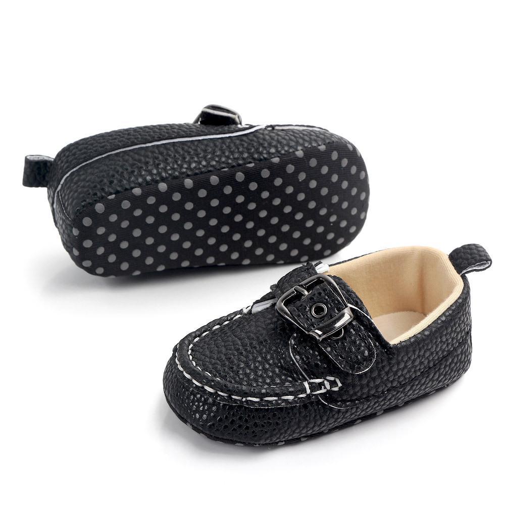 طفل الرضيع المولود الجديد الشرابة لينة وحيد أحذية الجلد المدبوغ بوي فتاة أحذية الأخفاف أحذية عارضة