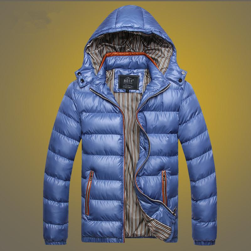 5 ألوان الرجال شتاء جاكيتات ثخن الستر معطف دافئ عارضة الازياء لون الصلبة مقنع معطف دافئ M-5XL