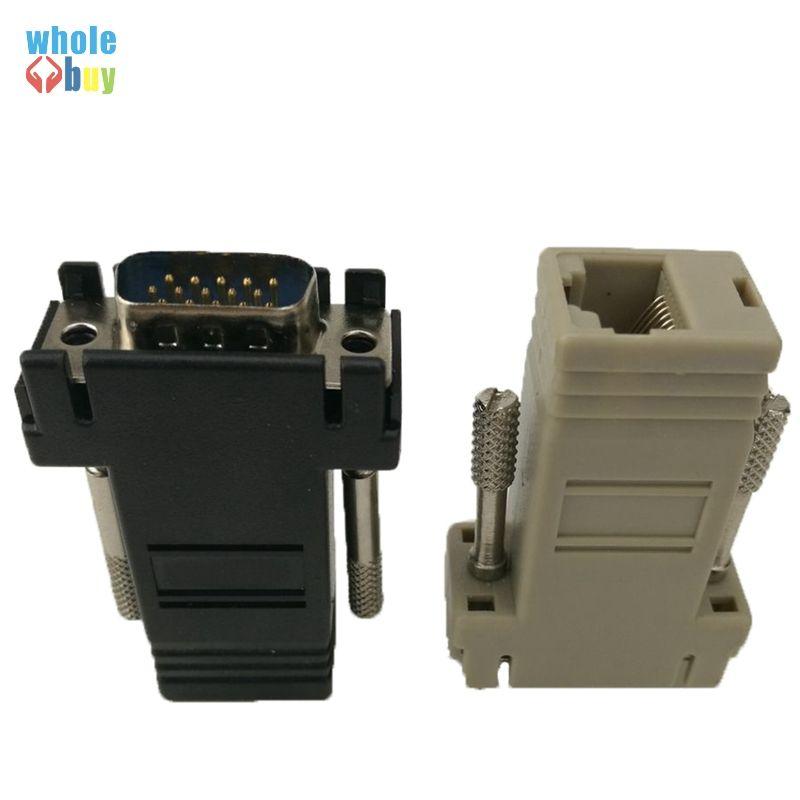 Yüksek Kaliteli Ağ Kablosu Adaptörü VGA Extender Erkek LAN CAT5 CAT5e CAT6 RJ45 Femae 100 adet / grup