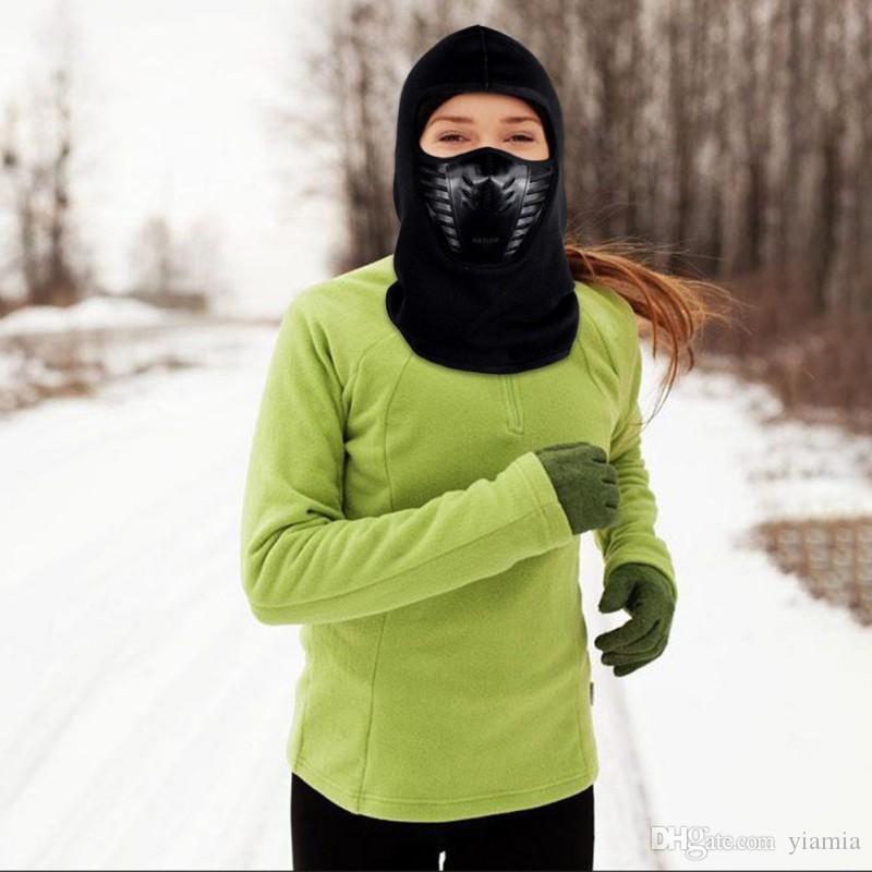 Лыжная маска для лица Полнолицевая маска для велоспорта с ветрозащитной защитой от загрязнений Велосипед Теплая маска для лица Мужская / женская пыленепроницаемая