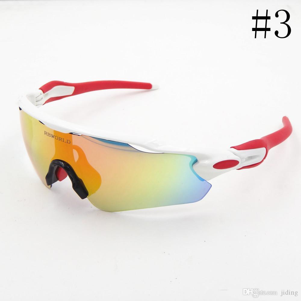2018 neue Marken-Radar EV Pitch polarisierte Sonnenbrille Beschichtung Sonnenbrille für Frauen Männer Sport-Sonnenbrille Reitgläser Radfahren Brillen uv400