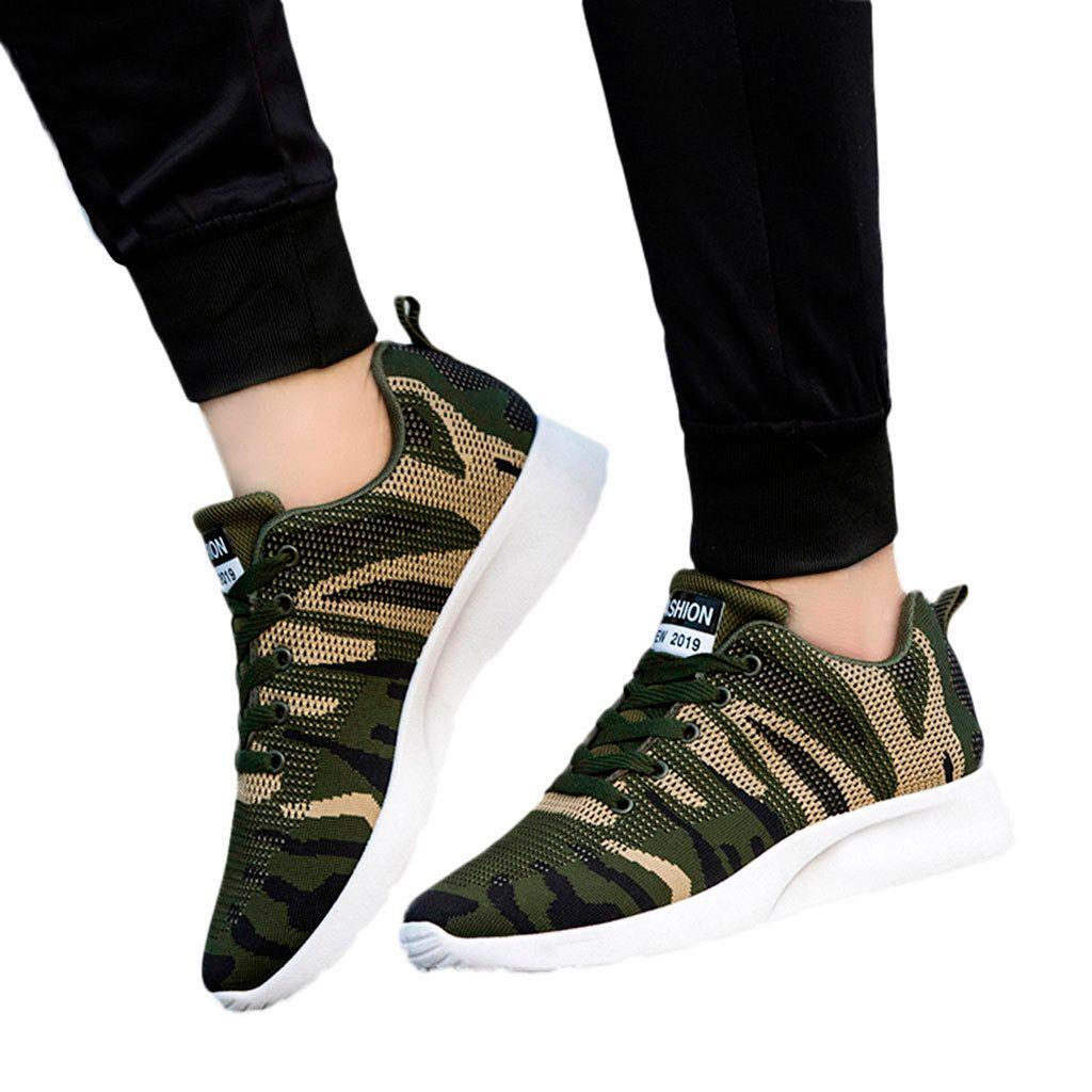 SAGACE Sneakers Moda Men Outdoor Malha Casual antideslizantes Sports Shoes resistente ao desgaste Runing respirável plana com sapatas X0103