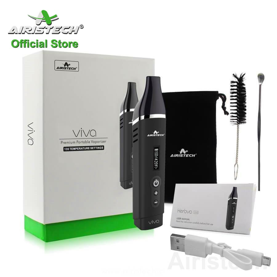 Airistech Viva dry-herb vaporizer for smoke shop provide by original manufacturer store with 6 month warranty