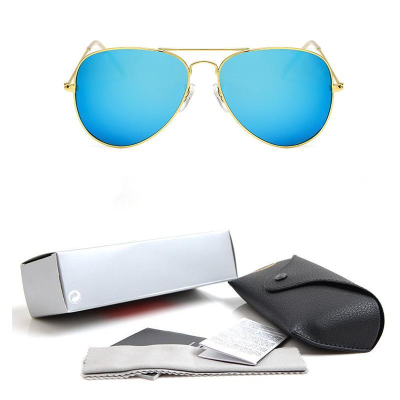 2018 جودة عالية النظارات المستقطبة الطيار موضة نظارات للرجال والنساء العلامة التجارية مصمم خمر الرياضة نظارات الشمس