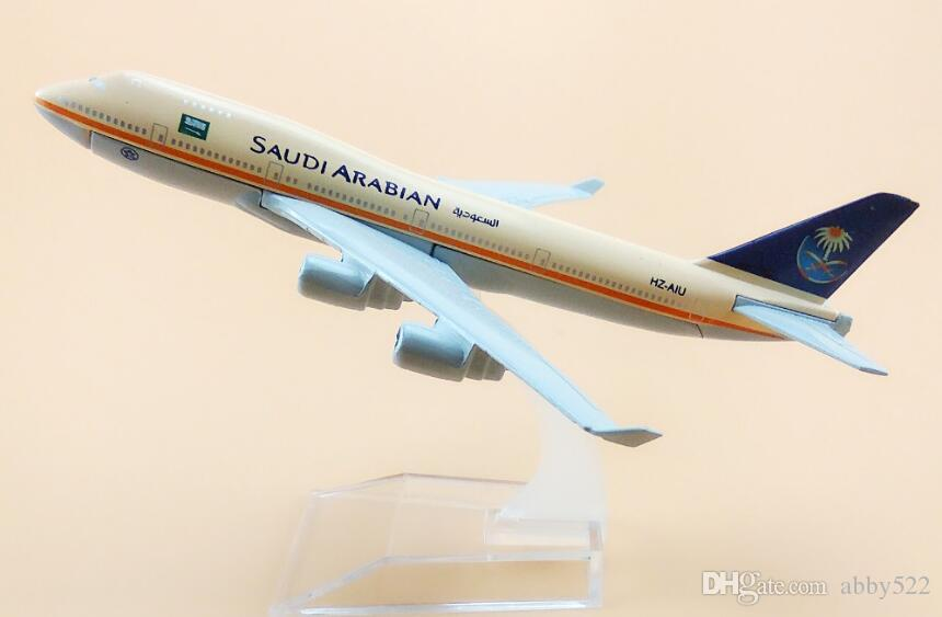New 16cm Aircraft Plane Boeing 747 One World Airlines Aircraft Diecast Model