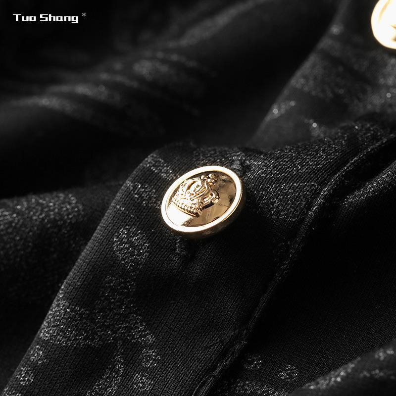 2020 hombres de alta calidad de manga corta de la moda de verano la camiseta cómoda alrededor del cuello de la ropa de moda camiseta informal SLTPEP0Z