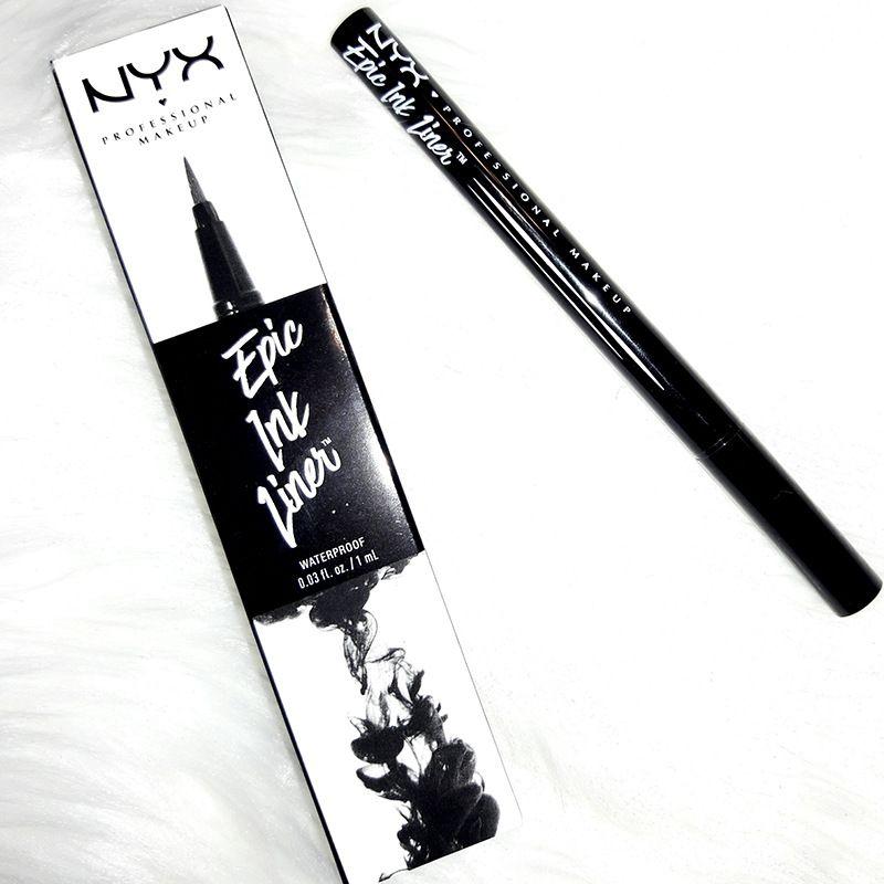 NYX Профессиональный макияж эпик лайнер чернила водонепроницаемый nyx черный жидкий карандаш для глаз подводка для глаз карандаш макияж maquiagem длительный
