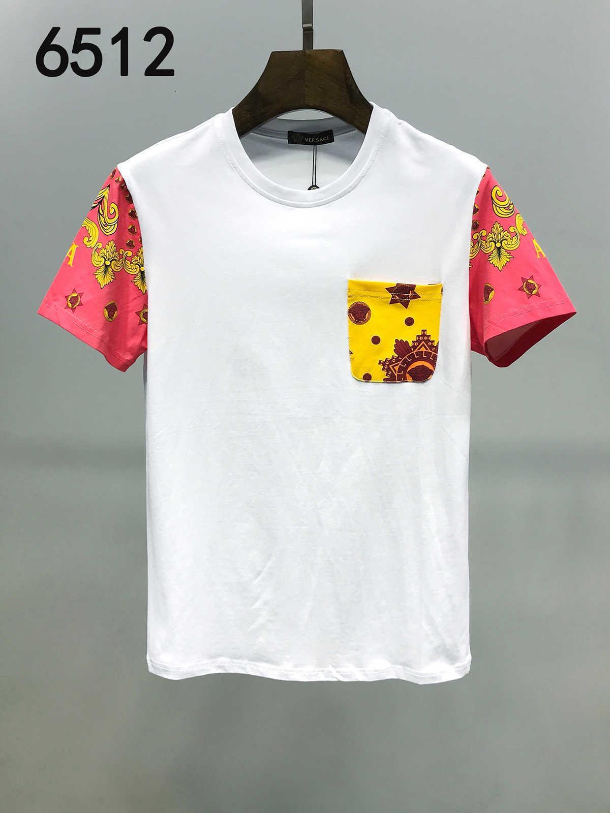 2020 llevar la camiseta del verano nuevos hombres patrón de manga corta de algodón Jóvenes Estudiantes de la chaqueta de manga mitad Fácil sin forro 11284