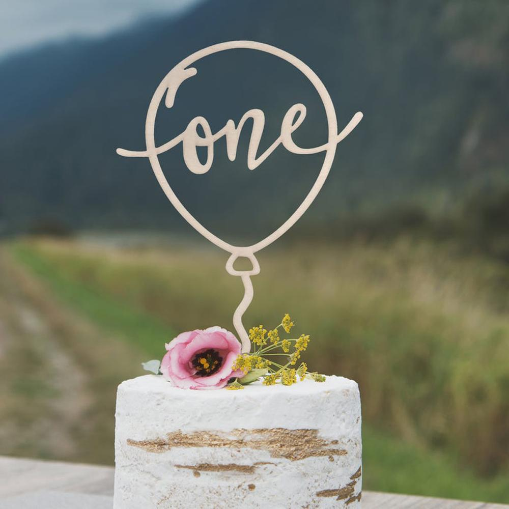 Amazing 2020 Personalized Balloon Cake Topper Custom Babys First Birthday Funny Birthday Cards Online Alyptdamsfinfo