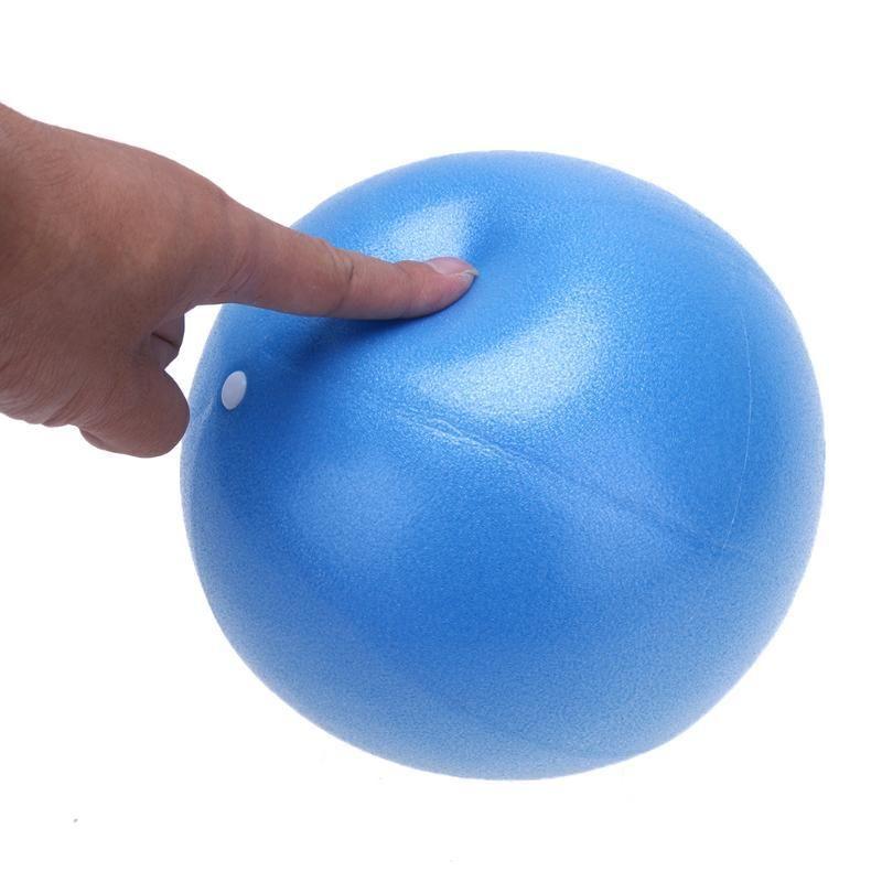 """25 centimetri / 9,84"""" Mini Yoga sfera fisica sfera di forma fisica per Fitness Appliance Esercizio Home Trainer Pods Pilates"""