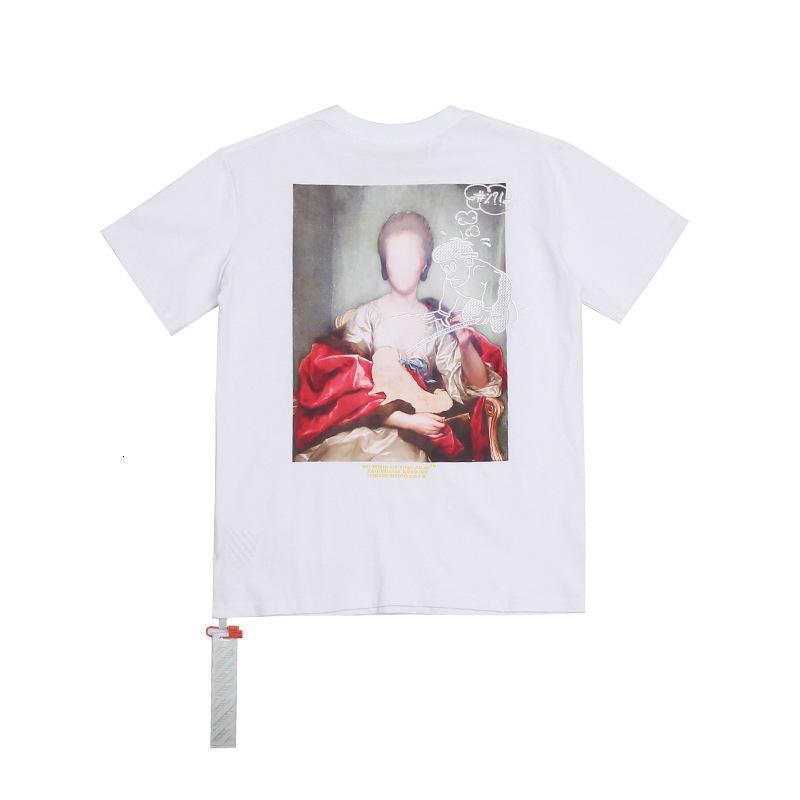2020 yüksek kaliteli erkek kısa kollu yaz moda T-shirt rahat rahat yuvarlak boyun T-shirt moda giyim MRX7J1BY