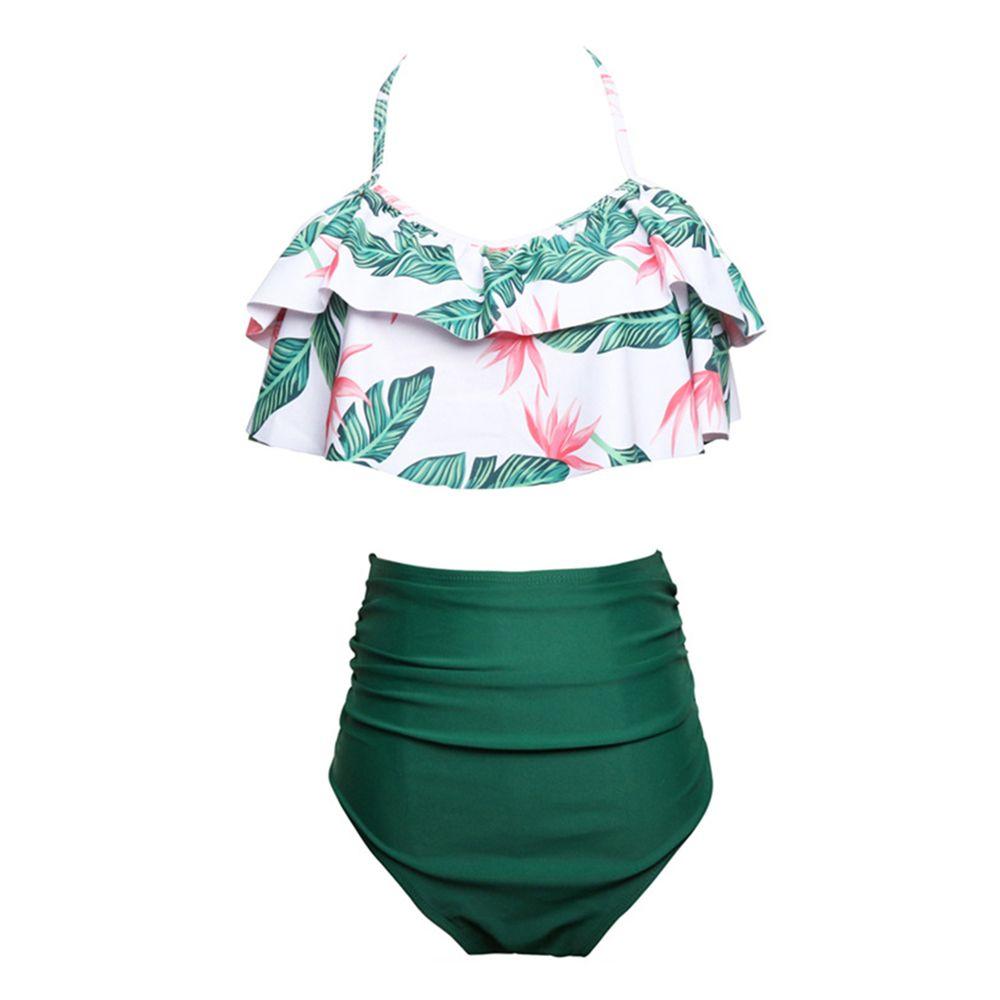 b31acacf6866 ... Bikinis Traje de baño para mujer Tankinis Cintura alta Traje de baño  Correa de espagueti Trajes ...