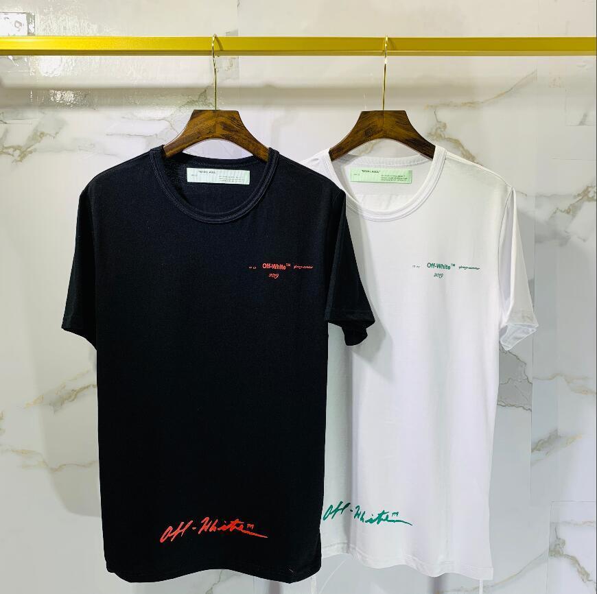 Nueva doble hilo de manga corta PALM ÁNGULO verano una sola cara 230 hombres y mujeres amantes de la moda de tela g sobre el tamaño de manga corta T-shirt582