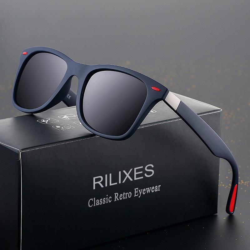 Marka Tasarımcısı Güneş Yüksek Kaliteli Metal Menteşe Güneş Gözlüğü Erkek Gözlük Kadınlar Klasik Polarize Güneş gözlükleri UV400 Lens Orijinal Kutusu
