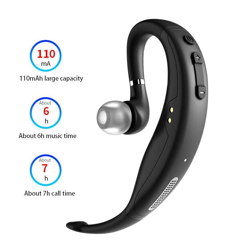 Беспроводная гарнитура Bluetooth 5.0 Наушники Аудио Наушники Игровые Микронаушники Наушники Hands Free Музыка Наушники с шумоподавлением