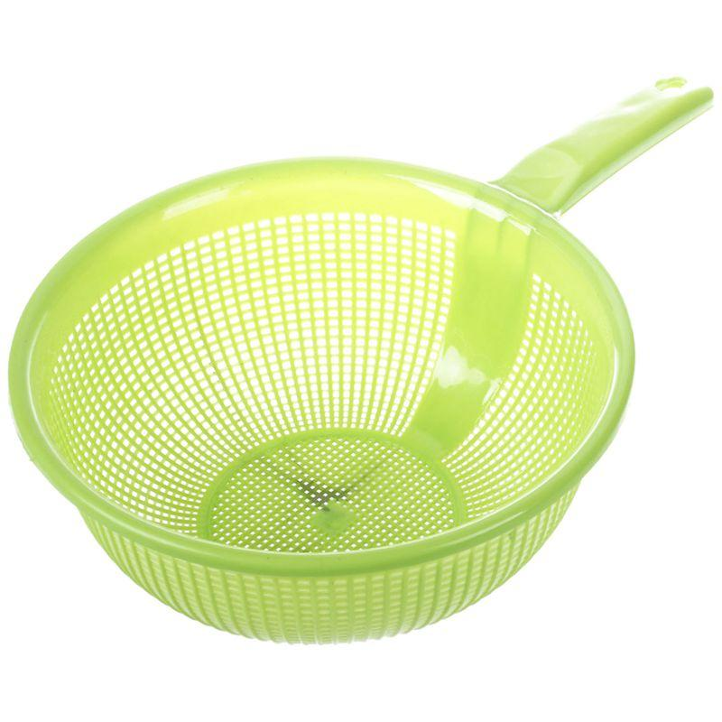 New Kitchen Home Platic Random Color Long Handle Rice Strainer Filter