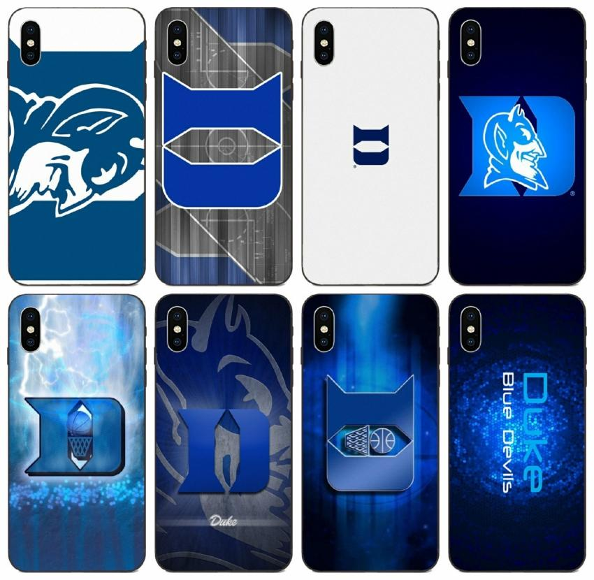 [TongTrade] Sports Ncaa Duke Blue Devils Logo Case For iPhone 12 11 Pro X XS Max 8 7 6s 5s Case Galaxy A7 Huawei Nova 5T HTC Desire 12 Plus