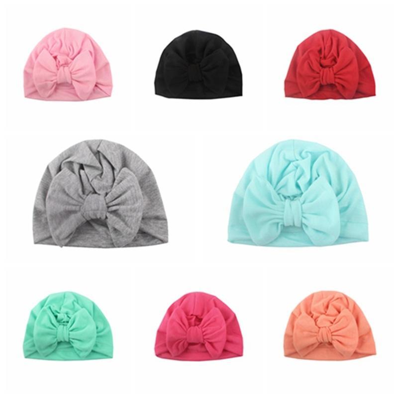 Toddler Newborn Hospital Hat Nursery Beanie Hat Baby Girl Caps Infant Turban