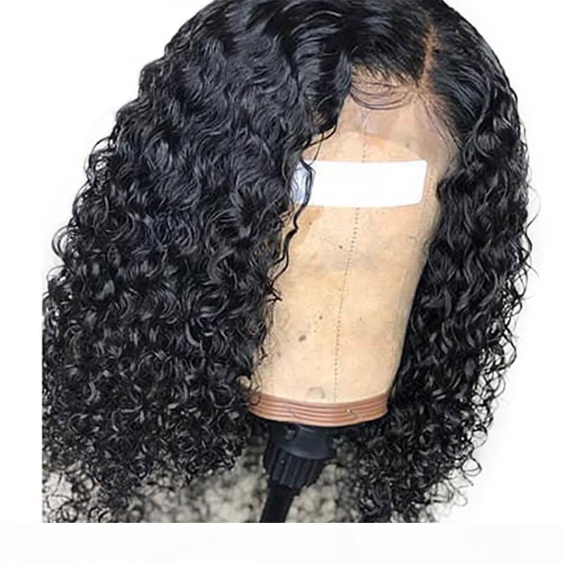 Onde de l'eau Dentelle Perruques avant Cheveux Humains Prequa avec bébé cheveux sans glutage cheveux péruviens pleine dentelle perruque d'eau pour femmes noires