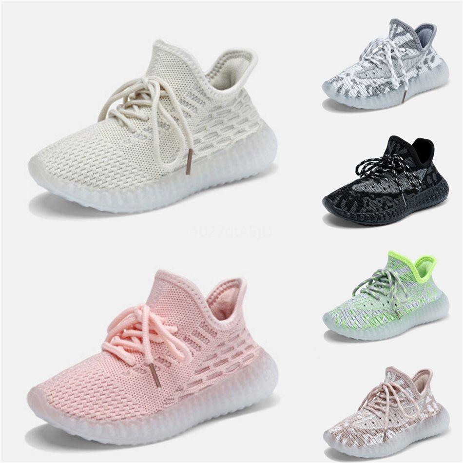 Kanye West V2 Правды Форма Infant Hyperspace Дети кроссовки Клей мода малыши Тренеры Большой Маленький мальчик девушка дети малыши Sneaker05 # 33