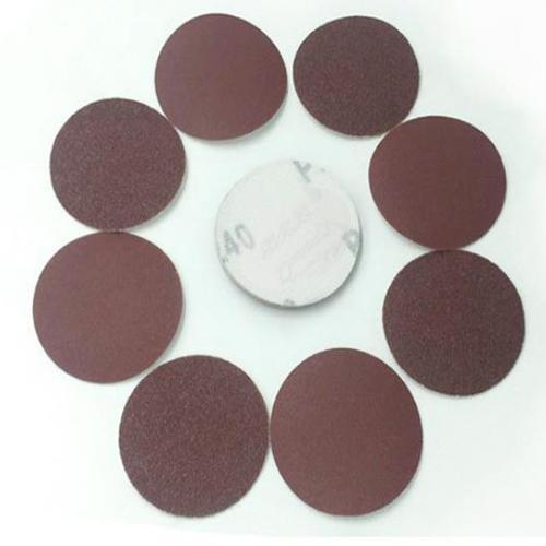 WHISM 3 Inç Zımpara Kağıdı Alüminyum Oksit Parlatma Pedi Taşlama Diski Zımpara Parlatıcı Mat 40-2000 Kum Zımpara için Aşındırıcı