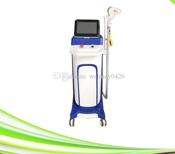 Laser portátil da remoção do cabelo do laser do diodo 808nm da clínica nova do salão de beleza dos termas