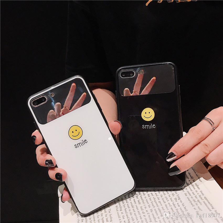 50pcs/lot Applicable to the XS MAX/6/7/8 plus of the iPhone with makeup mirror XR/XS mirror glass case china post