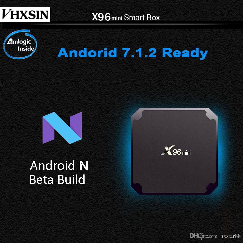 Android TV Box X96 mini Smart TV Android 7.1 9.0 TV Box S905W 1+8GB 2+16GB Quad Core Media Player