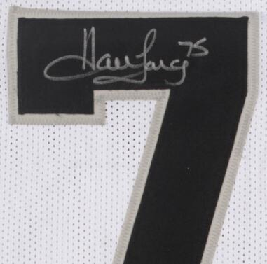 Howie Long Firmato signatured signaturer camicie Autograph Jersey