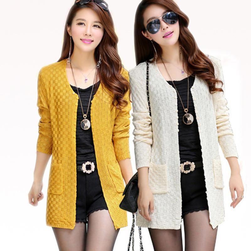 Frauen Designer Sweater Womens Designer Pullover Sommer Strickjacke mit Taschen Weibliche gestrickte Cardigans Feminino Tops Rosa Strickjacke Mujer